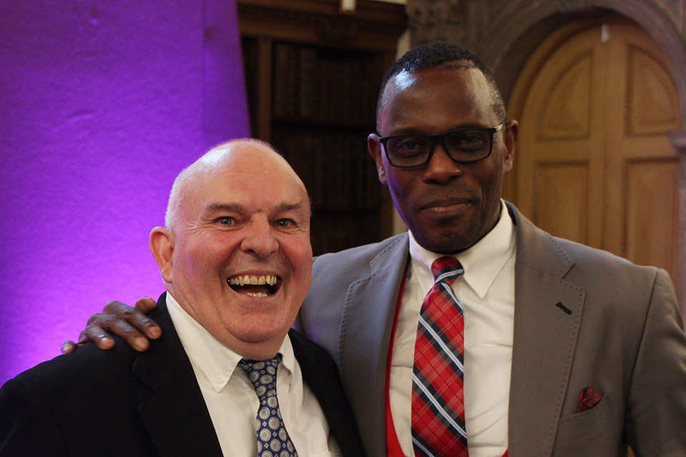 Roy Crowne & Revd Yemi Adedeji, HOPE's Associate Director