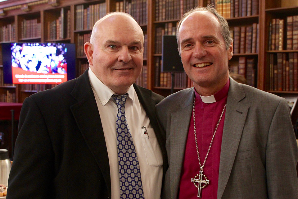 Bishop of Swindon Lee Rayfield & Roy Crowne